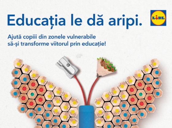 Lidl sprijină programul Teach for România