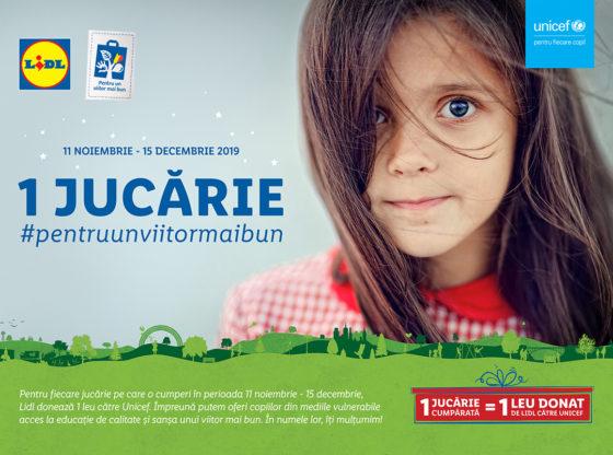 Lidl și UNICEF susțin copiii vulnerabili