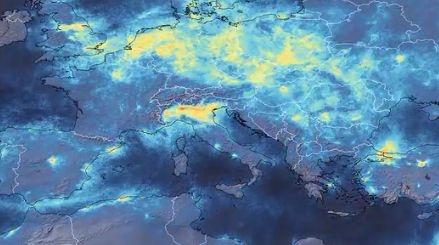 Poluarea atmosferică a scăzut