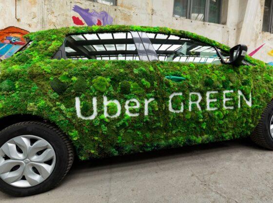 Uber Green în Timișoara