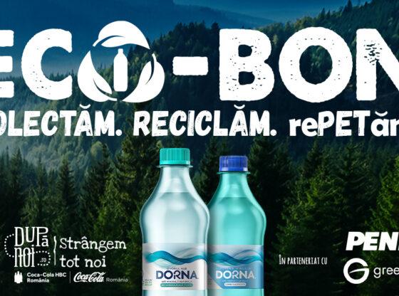 ECO-BON recompensează consumatorii pentru PET-urile colectate