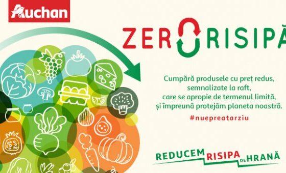 Auchan salvează peste 800 de tone de alimente