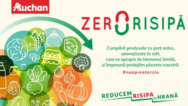 Auchan extinde programul Zero Risipă